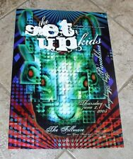 The Get Up Kids/Say Anything Fillmore Poster Print #F693 2005