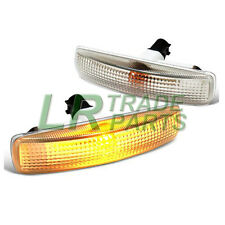 LAND ROVER DISCOVERY 3 & 4 CLEAR SIDE REPEATER INDICATOR LIGHTS & BULBS INCLUDED