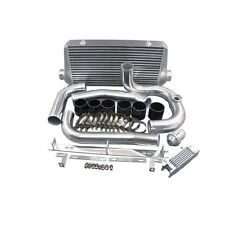 "CXRacing 4"" Core Intercooler kit w/BOV For 93-02 Toyota Supra MKIV 2JZ-GTE"