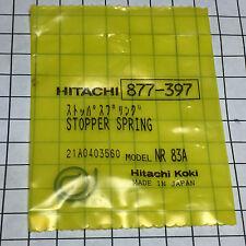 GENUINE HITACHI AIR TOOL PARTS STOPPER SPRING 877-397 NR83A, NR83A2, NR83A2(S)