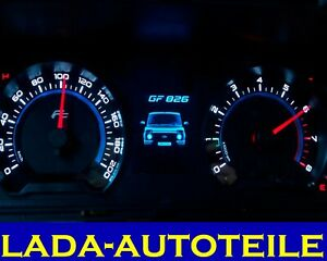 Instrument cluster with onboard computer for LADA NIVA