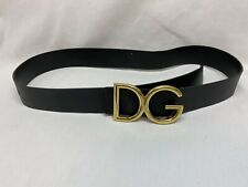 Dolce Gabbana Mens Belt Size 38 Authentic Made In Italy! Genuine Leather!