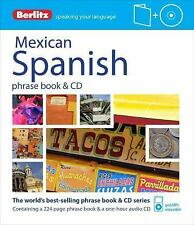 Berlitz Mexican Spanish Phrase Book & CD (Paperback or Softback)