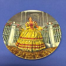 """1980 Gone With The Wind """"Melanie"""" Ltd Ed Plate by Knowles 3rd Issue"""