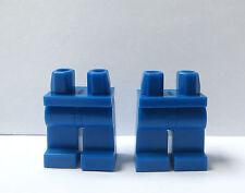 LEGO 2 X piernas para Minifigura Azul