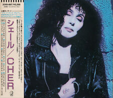 CHER s/t 1987 FIRST JAPAN CD 32XD-897 NO OBI Bon Jovi Bonnie Tyler