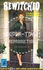 Vintage Reprint - 1960S - Bewitched Paper Dolls Book - Repro + Bonus Smash-Up