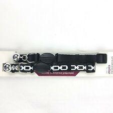 2 Pack of Good2Go Black Breakaway Cat Collars 3/8� 8-12� Adjustable w/ Bells New