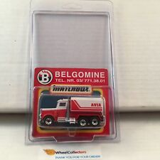 #5  Peterbilt  AVIA Belgomine * Red/White * Matchbox * E2