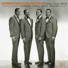 "SATISFACTION GUARANTEED  MOTOWN GUYS 1961-69  ""MIRACLES, CONTOURS SPINNERS ETC."""