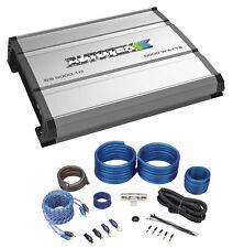 Autotek SS5000.1D 5000 Watt Mono Car Audio Amplifier 1-Ohm Class-D+Amp Wire Kit