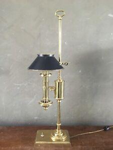 Vintage Bright & Argand Electric Student Table Desk Lamp