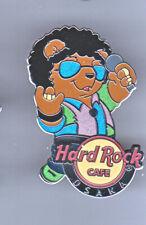 Hard Rock Cafe Pin: Osaka Aug Musician Guy Singer Bear le100