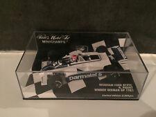 Brabham Ford BT49C Winner Allemagne GP 1981 Piquet Minichamps 1/43