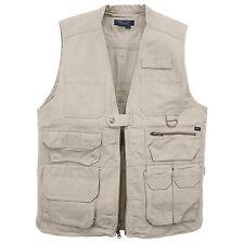 Authentic 5.11® Tactical Vest (COTTON) KHAKI - LARGE