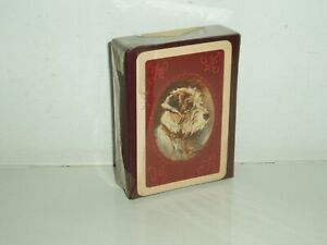Rare Lucy Dawson Terrier Dog playing cards by Waddington (New & Sealed) 1933.