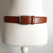 Bosca Accessories in Genuine Leather Brown Mens Business Casual Belt 32/80