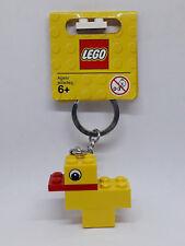 Brand New Lego - Duck Keyring/Bag Charm (2010) - Classic - 852985 - Very Rare