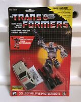 TRANSFORMERS G1 AUTOBOT PROTECTOBOT STREETWISE MOSC! DEFENSOR US SELLER RARE!