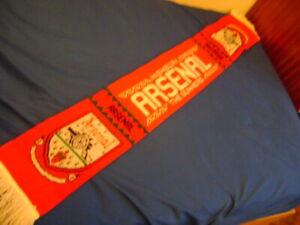 Arsenal FC  scarf vintage 90'