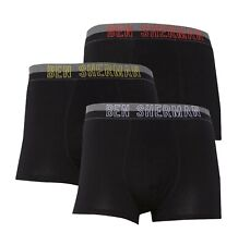 3 Pack Mens Ben Sherman Underwear Stretch Cotton Boxer Trunks Sizes from S to XL