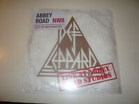 """Def Leppard Live At Abbey Road Studios Record Store Day 2018 Sealed 12"""" Single"""