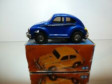CHINA MF146 VW VOLKSWAGEN BEETLE - BLUE METALLIC - GOOD IN BOX - FRICTION