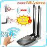 Password Crack Internet Long Range Dual Wifi Antenna USB Wifi Adapter Decoder BH