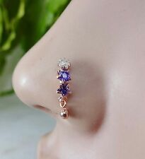 Indian Nose Ring Nose Piercing Brass Nose Studs Cartilage Jewelry Ball Nose Stud