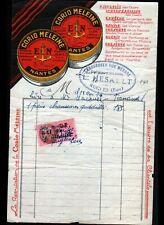 "RUGLES (27) CHAUSSURES ""L. HESAULT"" Publicité Cirage CORIO MELEINE en 1939"