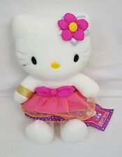 "RARE Sanrio HELLO KITTY India PRINCESS 8"" Plush MASCOT Doll NEW with TAGS"