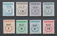 Trinidad & Tobago National Insurance Fiscals, Bft 15/27 MNH. 1990-91 issues