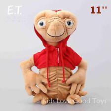 E.T. Cartoon Extra-Terrestrial Alien Plush Soft Toy Stuffed Doll 11'' Big Teddy