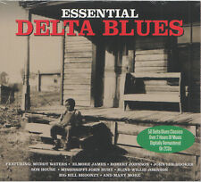 2CD Essential Delta Blues | Neuware | Elmore James Muddy Waters John Lee Hooker
