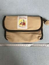 Brown Mickey Mouse The Whoopee Party Washbag Pencil Case Makeup Bag New