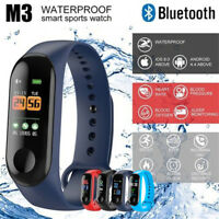 M3 Smart Bracelet Fitness Activity Tracker Blood Pressure Heart Rate Monitor New