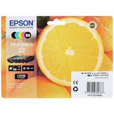 NEW EPSON 33 Series Multipack T3337 XP 530 630 635 830 GENUINE C13T33374010