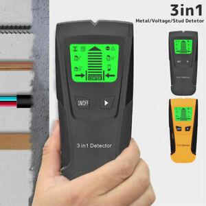 3 in 1 LCD Stud Finder Pipe Sensor Metal Wire Detector Electric Wall Scanner UK