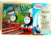 Thomas & Friends 4 Wood Puzzles ~ storage box included ~ Brand NEW, Instant SHIP