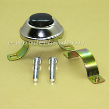 HEAVY  HORN BUTTON SWITCH PUSH BUTTON MOMENTARY SWITCH 12 Volt WITH BRACKET