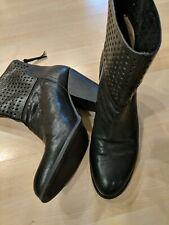 Women's Nine West NWhippychic Black Boots Size 8.5 M