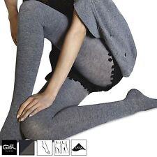 Gatta Touch of Silk elegante blickdichte Strumpfhose Baumwolle Wolle Seide Luxus