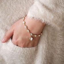 Rhinestone Silver Plated Chain Fashion Bracelets