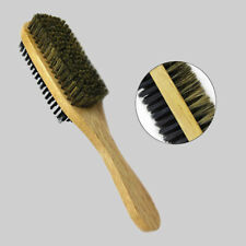 Hard and Soft Double Side Brush Boar Plastic Bristles Magic Collection Wood
