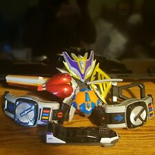 Kamen Rider Den-O Heavy Rotation Sword Dx Denka Men Sword And Den o Drivers lot