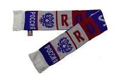 Russia Colored Stripes Country Flag Logo Thick Scarf.Viva Souvenirs.New