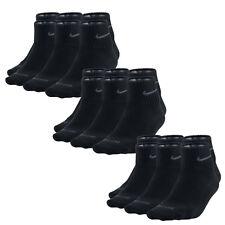 9 Paar NIKE Dri-FIT NoShow Sneaker Socken schwarz 46-50 9er Pack Füßlinge LowCut