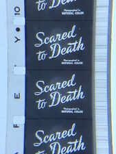 16mm Sound B/W Feature Scared to Death 1947 Bela Lugosi Horror Kodak  Vg uncut