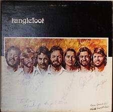 TANGLEFOOT (self-titled)-M1979LP AUTOGRAPHED, PICTURE/LYRICS SLEEVE