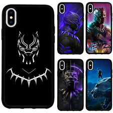 Black Panther Superhero Phone Case Cover for iPhoneSE 2020 XR XS 11 12 Pro Max